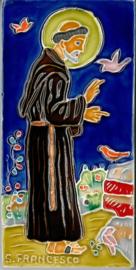 Tegeltje Sint Franciscus