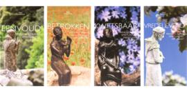 Boekenserie: eenvoud, betrokken, kwetsbaar en vredelievend