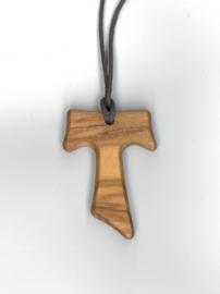 Tau-kruisje groot 3,8 cm