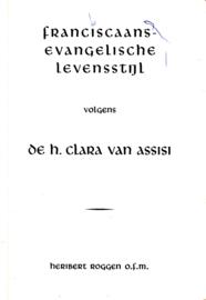 Franciscaans-evangelische levensstijl volgens de h. Clara van Assisi