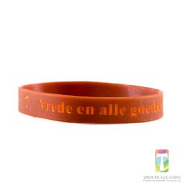 """Armbandje 'Vrede en alle goeds"""""""