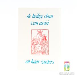 De heilige Clara van Assisi en haar zusters