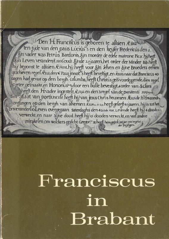 Franciscus in Brabant