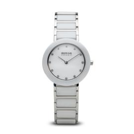 Bering horloge ceramic Wit Zilver 11429-754