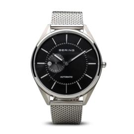 Bering horloge Automatic zilver zwart 16243-077
