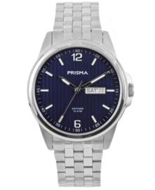 Prisma Heren Horloge Pattern Steel Blauw P.1664