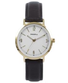 Prisma Dames horloge slimline MRS. Goud P.1508
