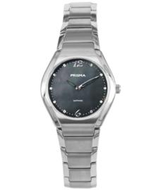 Prisma Dames Horloge Simplicity Titanium Zwart P.1674