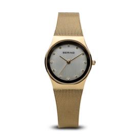 Bering horloge classic polished goud 12927-334