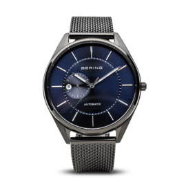 Bering horloge automatic zwart blauw 16243-227