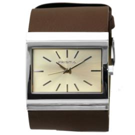 Prisma Dames horloge Fashion Bruin P.2340