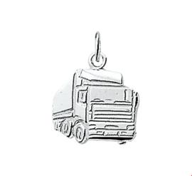 zilveren hanger vrachtwagen