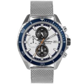 Prisma heren horloge Master blauw P.1326