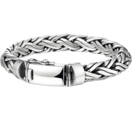 Massief zilveren Palmier armband 10mm
