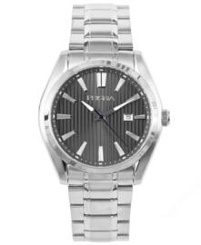 Prisma Heren horloge Pattern Class zilver P.1830