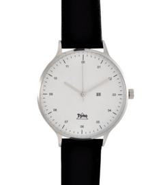 Tyno classic zilver wit 201-001 zwart
