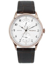 Prisma Heren horloge Traveller vigorous  Roségoud P.1902