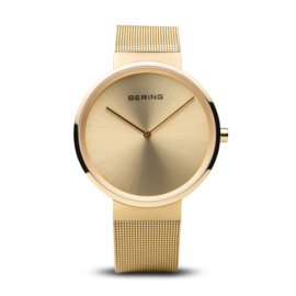 Bering horloge classic polished gold 14539-333