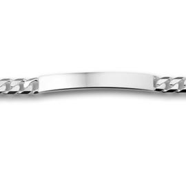 Zilveren graveer armband gourmet 6mm