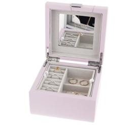 Sieradenbox roze