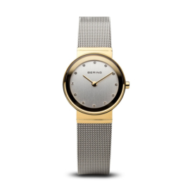 Bering horloge classic polished goud zilver 10122-001