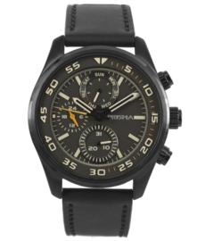 Prisma Heren horloge Aviator edition bruin P.1825