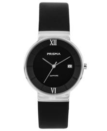 Prisma Dames horloge Aston Zwart P.1942