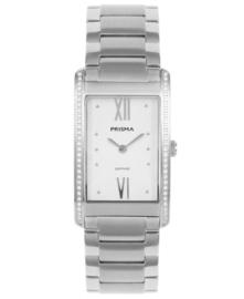 Prisma Dames horloge Precise Zirconia Zilver P.1955
