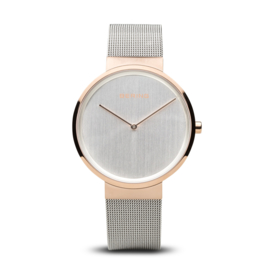 Bering horloge classic polished roségold zilver 14539-060