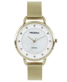 Prisma Dames horloge Pure Rhombic goud P.1938