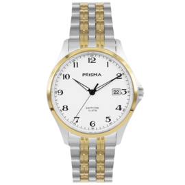 Prisma Heren horloge Performance  Wit Bicollor P.1272