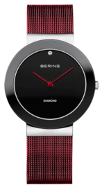 Limited edition Bering horloge Rood 11435-CHARITY