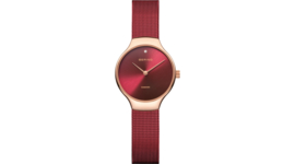 Limited edition Bering horloge charity met diamant 13326-charity