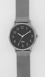 Tyno Zilver zwart 301-002 mesh