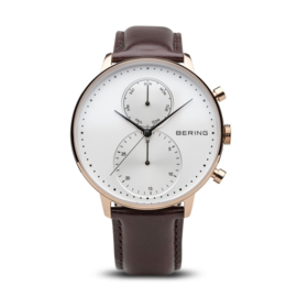 Bering horloge classic polished roségold white 13242-564