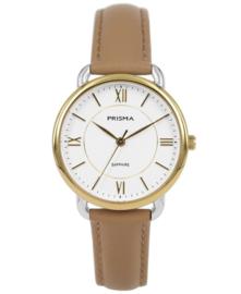 Prisma Dames horloge Serenity curve Goud P.1972