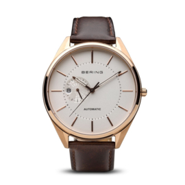 Bering horloge automatic rosé goud wit 16243-564