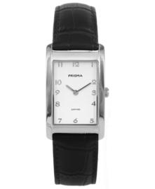 Prisma dames Horloge Precise Quada Zwart P.1965