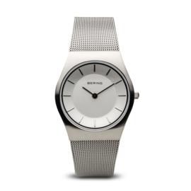 Bering horloge classic brushed zilver 11935-000