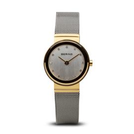 Bering horloge classic polished goud zilver 10126-001