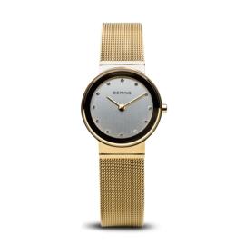 Bering horloge classic polished goud 10126-334