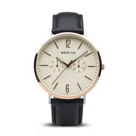 Bering horloge classic pollished roségold/white 14240-664