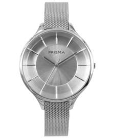 Prisma Dames Horloge Devotion Great Zilver/grijs P.1586