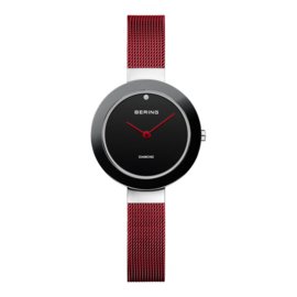 Limited edition Bering horloge Rood 11429-CHARITY3