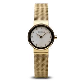 Bering horloge classic polished goud 10122-334