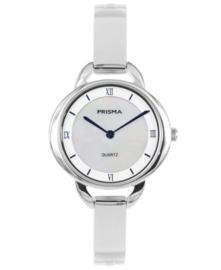 Prisma dames horloge Simplicity ovall zilver P.1465