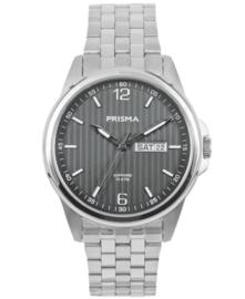 Prisma Heren horloge Pattern Steel Zwart P.1665