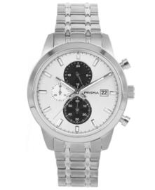 Prisma Heren Horloge Traveller Titanium wit P.1946