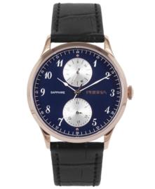 Prisma Heren Horloge Traveller vigorous Blauw P.1903