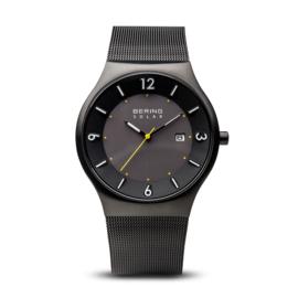 Bering horloge solar zwart geel 14440-223
